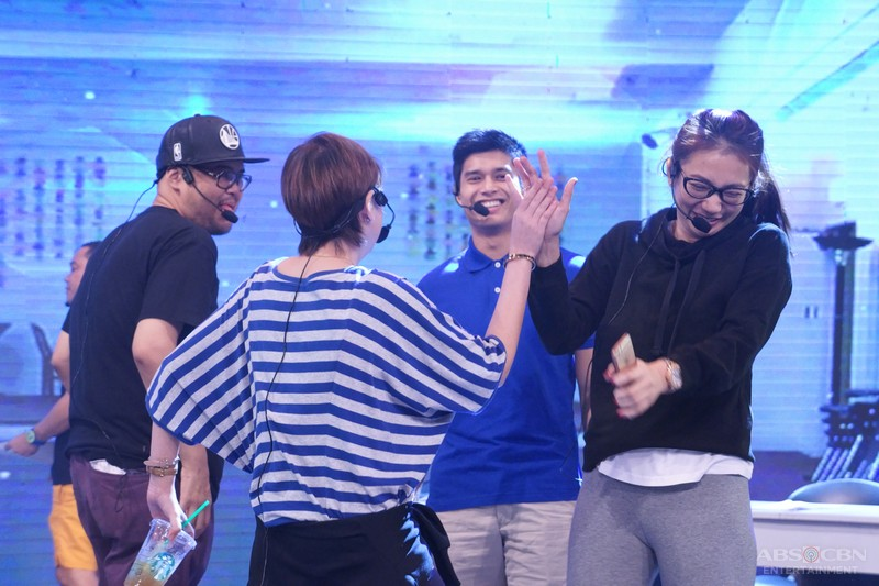 CAUGHT ON CAM: Kulitan ng Bananakada sa Banana Sundae taping