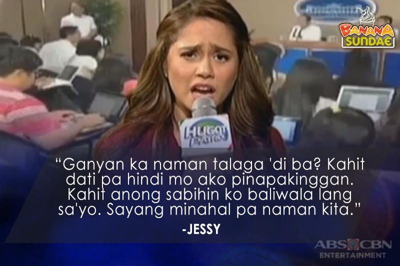 Mga tagos sa pusong hugot ni Jessy Mendiola sa Banana Sundae