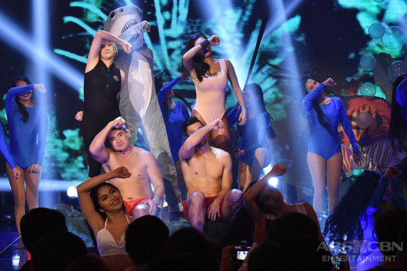 IN PHOTOS: Team Angelica's nail-biting performance on Banana Sundae