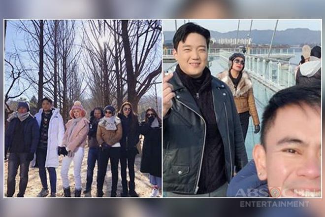 IN PHOTOS: Pasilip sa naganap na Korea trip ng BananaKada!