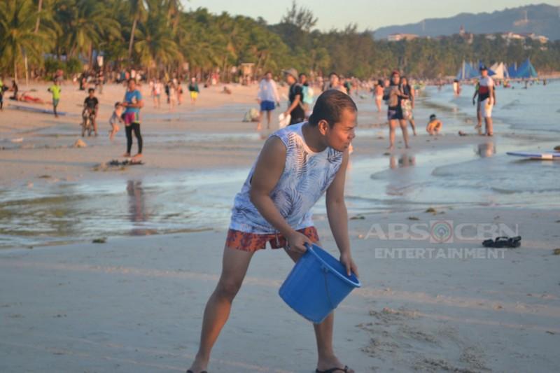 Behind-The-Scenes: Pasilip sa masayang bakasyon ng Banana Sundae sa Boracay